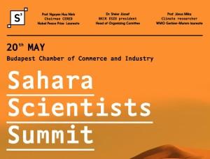 1st Sahara Scientists Summit 2015.május 20. Budapest